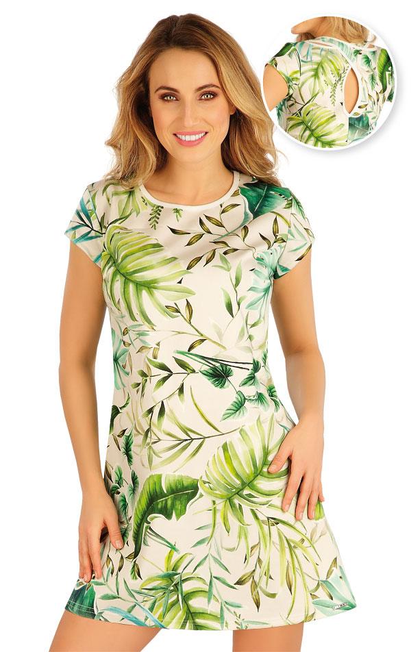 Šaty dámske s krátkym rukávom. 5A123 | Šaty, sukne, tuniky LITEX