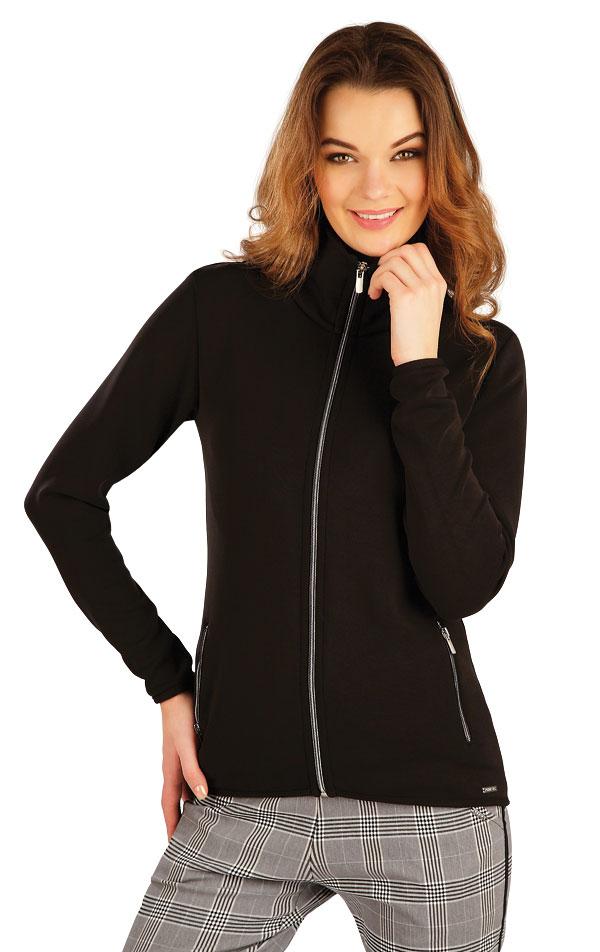 Mikina dámska na zips. 5A127 | Bundy, vesty, kabátiky LITEX