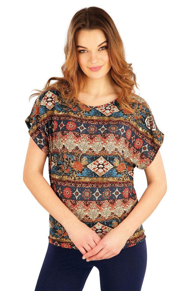 Tričko dámske s krátkym rukávom. 5A130 | Tielka, trička, halenky LITEX
