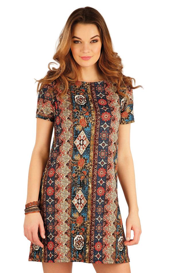 Šaty dámske s krátkym rukávom. 5A134 | Šaty, sukne, tuniky LITEX
