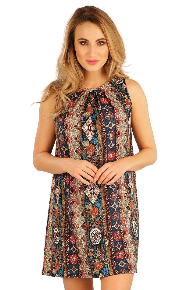 Šaty dámske bez rukávov. 5A135   Šaty a sukne LITEX