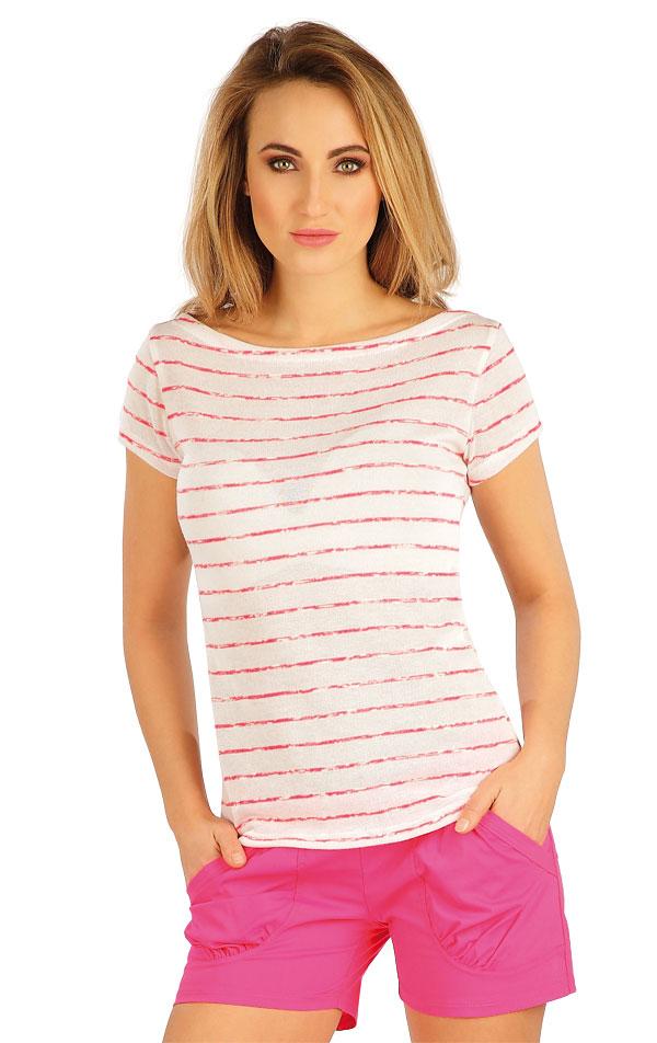 Tričko dámske s krátkym rukávom. 5A141 | Tielka, trička, halenky LITEX