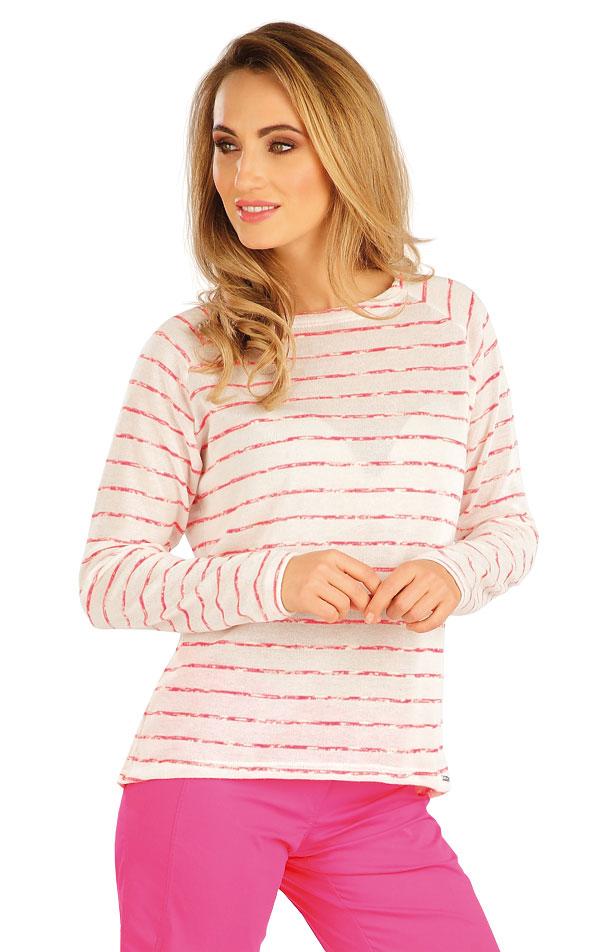 Tričko dámske s dlhým rukávom. 5A143 | Tielka, trička, halenky LITEX