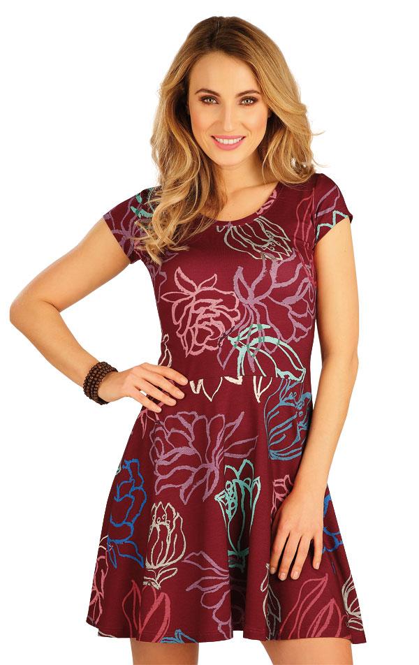Šaty dámske s krátkym rukávom. 5A148 | Šaty, sukne, tuniky LITEX