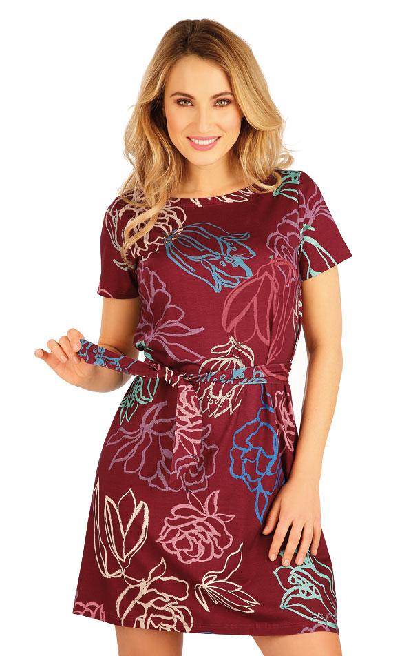 Šaty dámske s krátkym rukávom. 5A149 | Šaty, sukne, tuniky LITEX