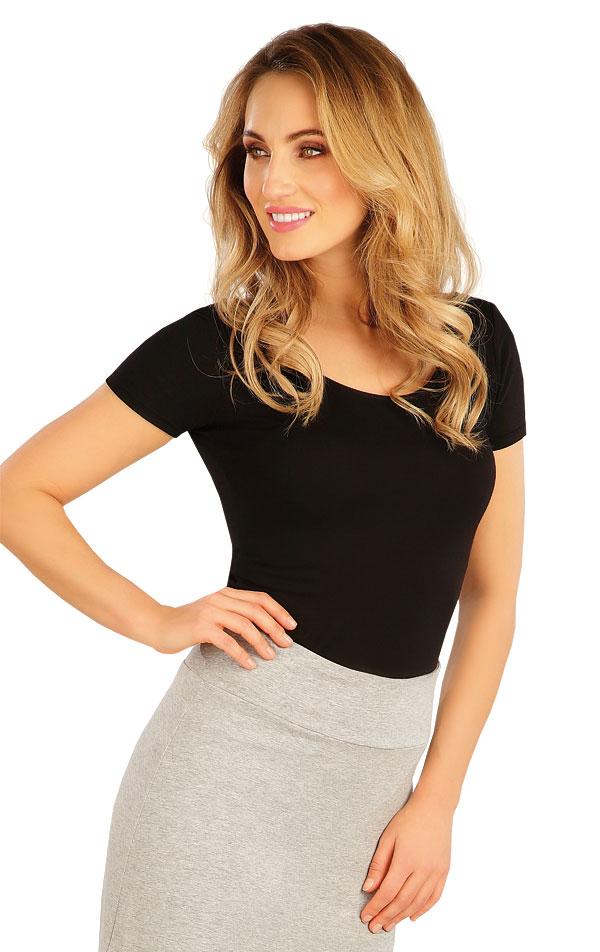 Tričko dámske s krátkym rukávom. 5A156 | Tielka, trička, halenky LITEX