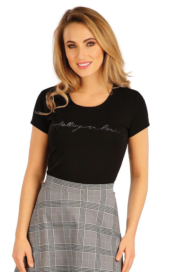 Tričko dámske s krátkym rukávom. 5A157 | Dámske oblečenie -  zľava LITEX