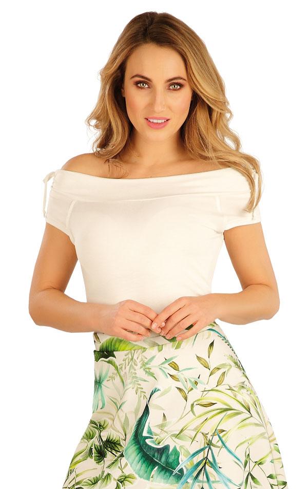 Tričko dámske s krátkym rukávom. 5A164 | Dámske oblečenie -  zľava LITEX