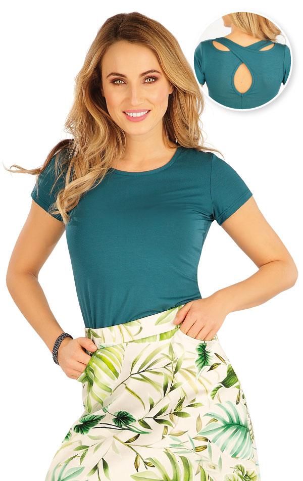 Tričko dámske s krátkym rukávom. 5A171 | Tielka, trička, halenky LITEX