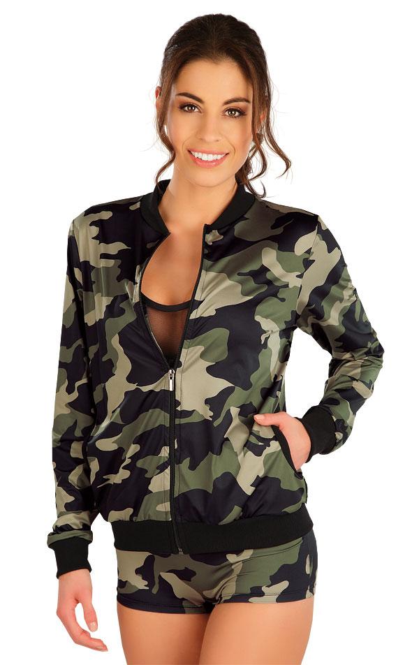 Mikina dámska na zips. 5A206   Bundy, vesty LITEX