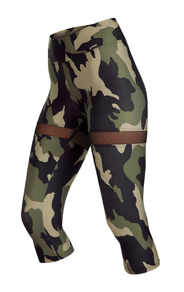 Fitness oblečenie > Legíny dámske v 3/4 dĺžke. 5A208