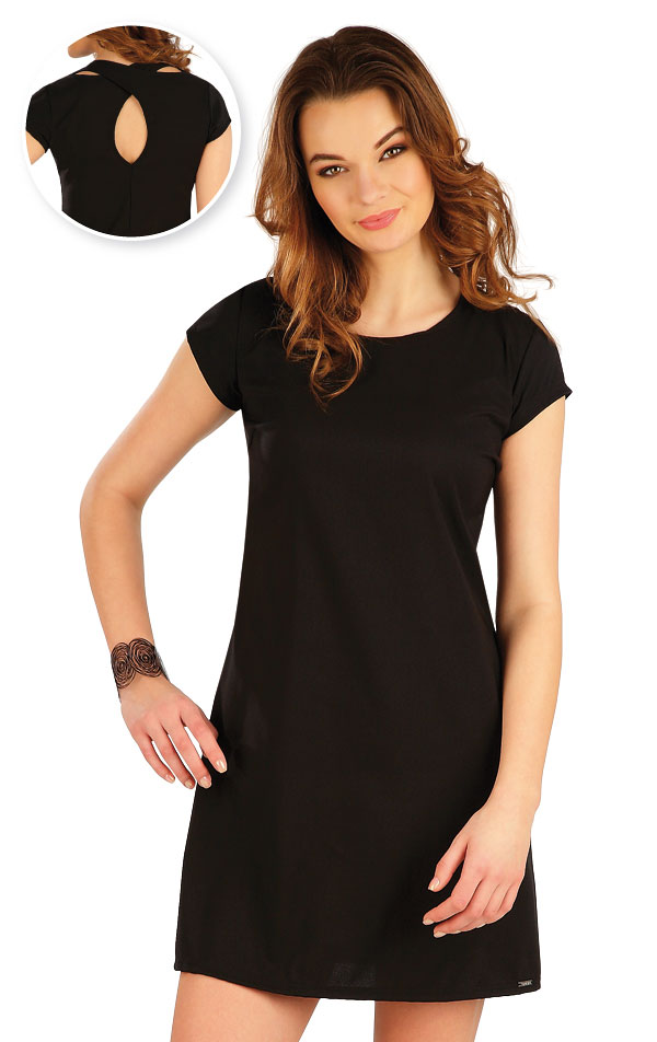 Šaty dámske s krátkym rukávom. 5A321 | Šaty, sukne, tuniky LITEX