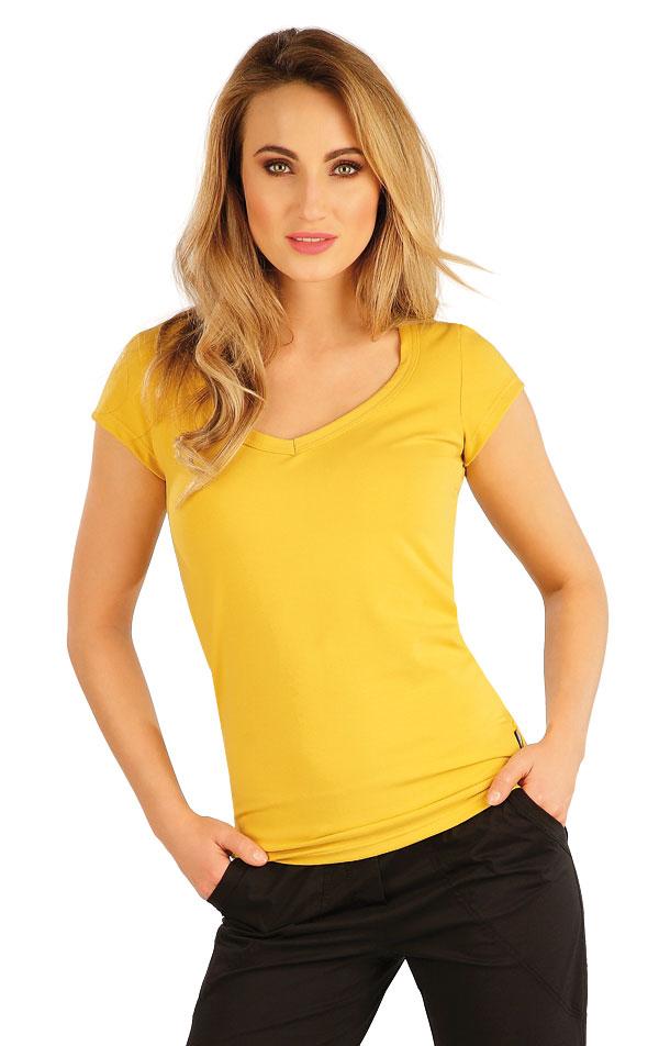 Tričko dámske s krátkym rukávom. 5A353 | Tielka, trička, halenky LITEX