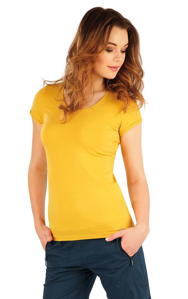 Tričko dámske s krátkym rukávom. 5A354 | Tielka, trička, halenky LITEX