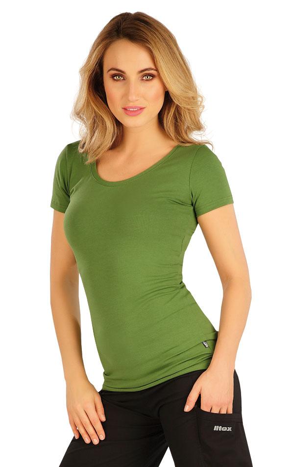 Tričko dámske s krátkym rukávom. 5A358   Tielka, trička, halenky LITEX