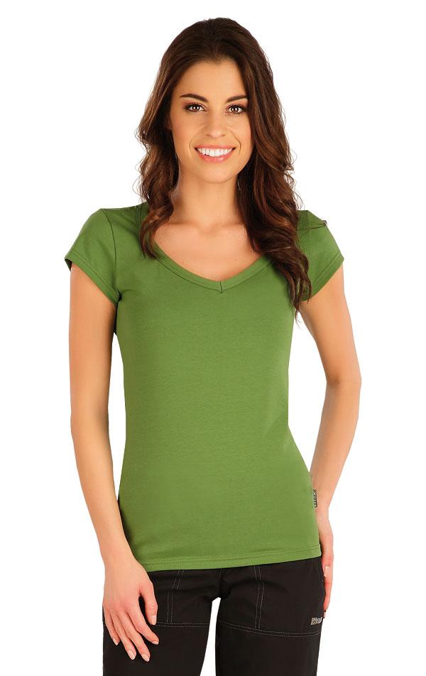 Tričko dámske s krátkym rukávom. 5A359 | Tielka, trička, halenky LITEX