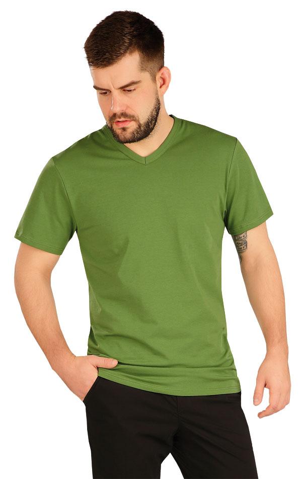Tričko pánske s krátkym rukávom. 5A360   Dámske oblečenie -  zľava LITEX