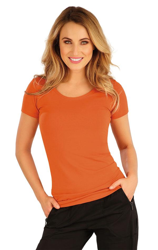Tričko dámske s krátkym rukávom. 5A363 | Tielka, trička, halenky LITEX