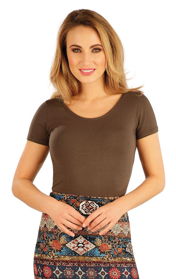 Tričko dámske s krátkym rukávom. 5A376 | Tielka, trička, halenky LITEX