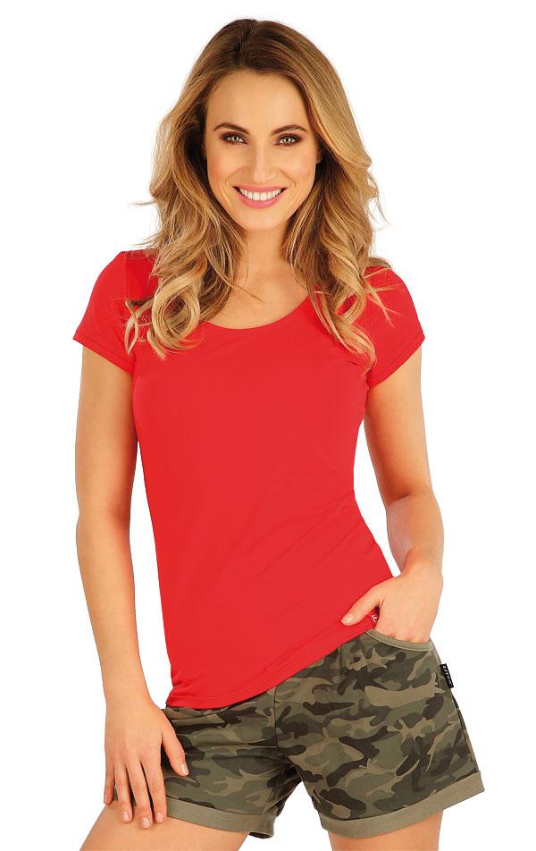 Tričko dámske s krátkym rukávom. 5A378 | Tielka, trička, halenky LITEX