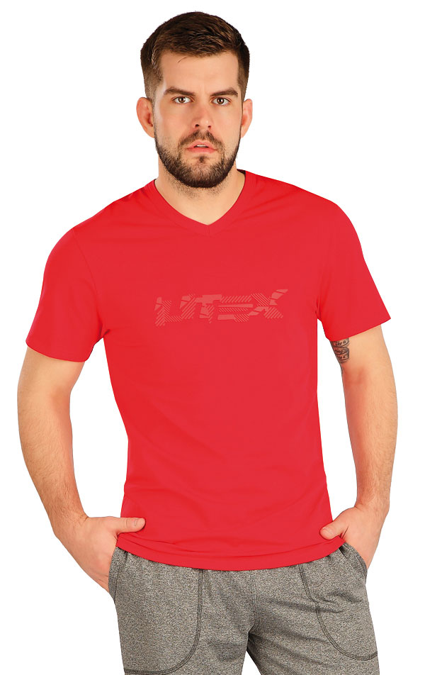 Tričko pánske s krátkym rukávom. 5A380   Trička, tielka LITEX