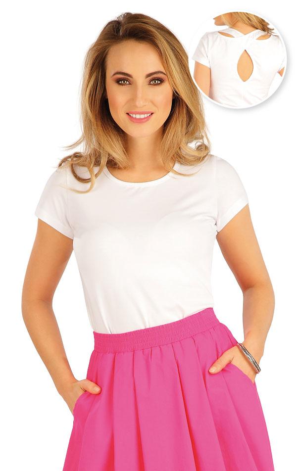 Tričko dámske s krátkym rukávom. 5A382 | Tielka, trička, halenky LITEX