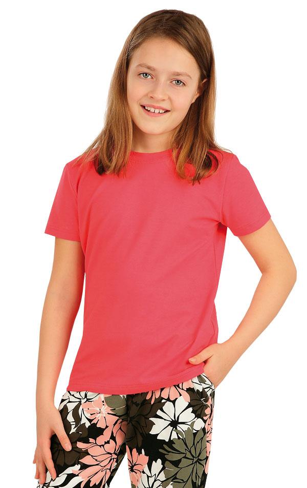 Tričko detské s krátkym rukávom. 5A388 | Dámske oblečenie -  zľava LITEX