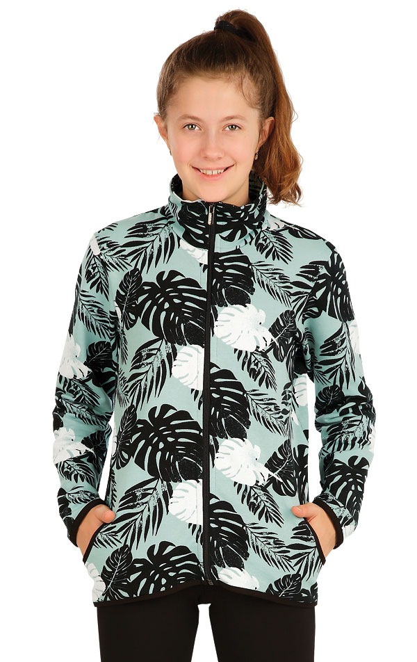 Mikina dětská na zip. 5A390 | Detské oblečenie LITEX