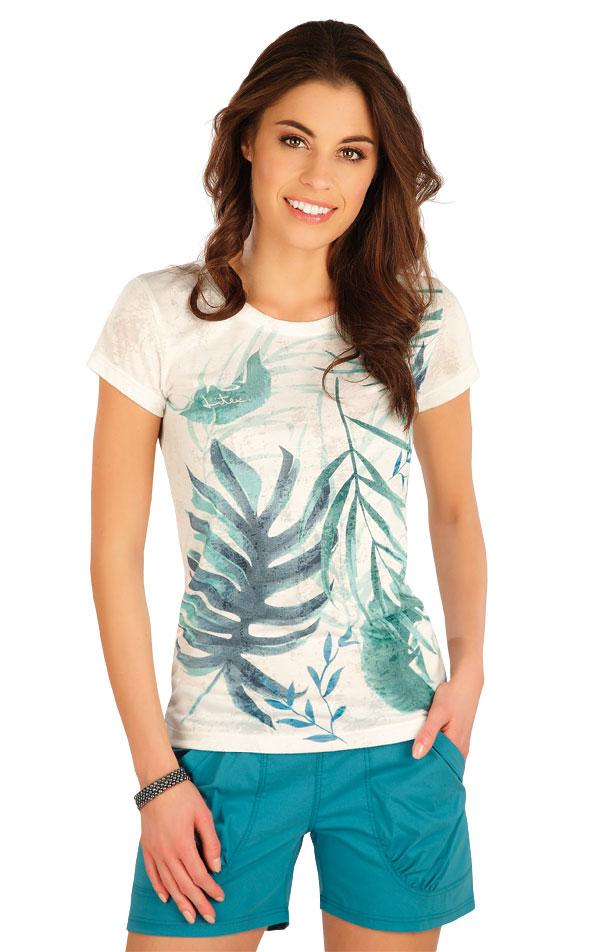 Tričko dámske s krátkym rukávom. 5A397 | Tielka, trička, halenky LITEX