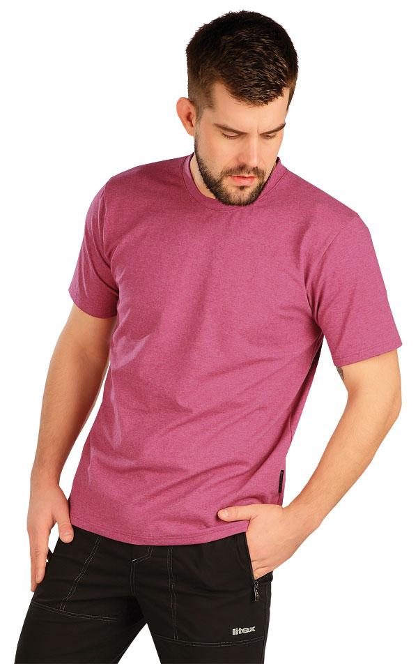Tričko pánske s krátkym rukávom. 5A402 | Trička, tielka LITEX