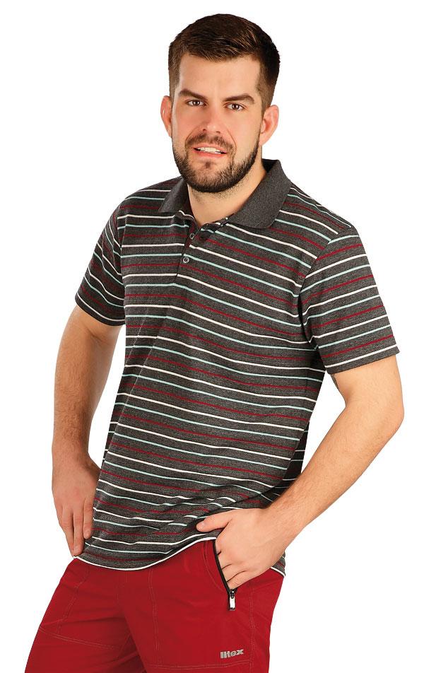 Polo tričko pánske s krátkym rukávom. 5A403 | Trička, tielka LITEX