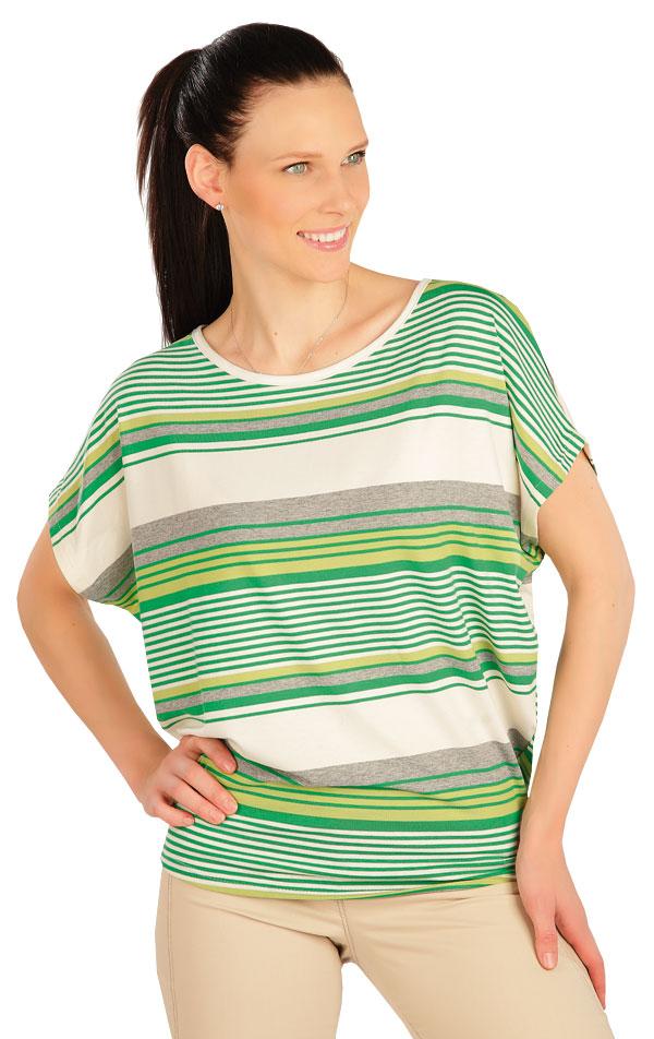 Tričko dámske s krátkym rukávom. 5A417 | Tielka, trička, halenky LITEX
