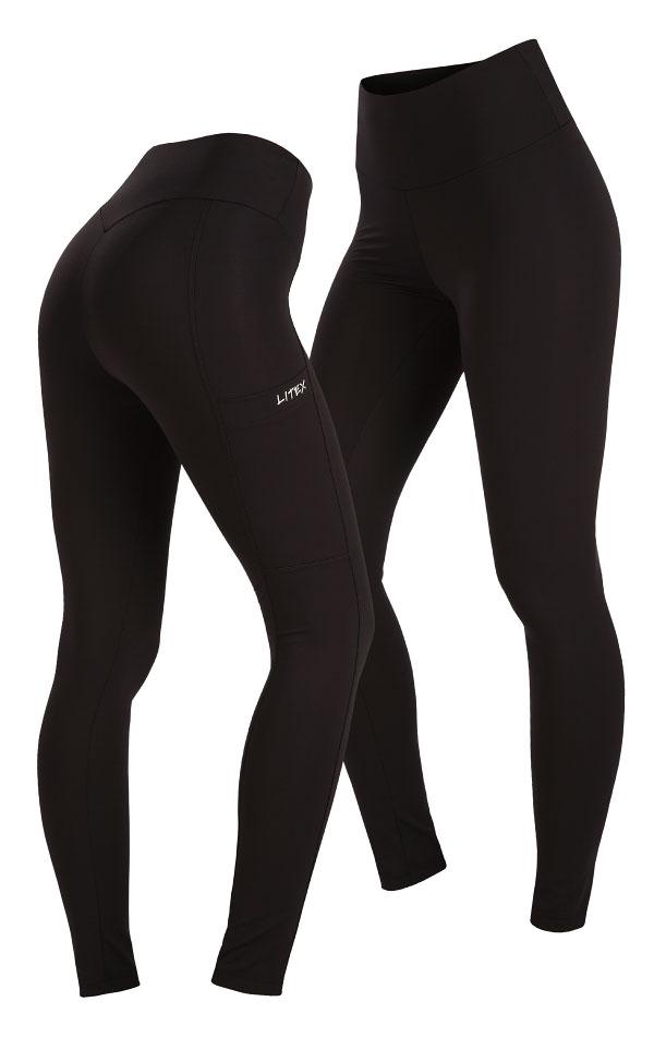 Dámské běžecké kalhoty. 5A467 | Legíny dlhé LITEX