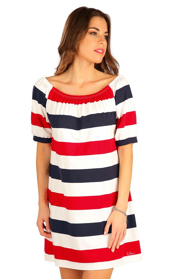 Šaty dámske s krátkym rukávom. 5B011 | Šaty, sukne, tuniky LITEX