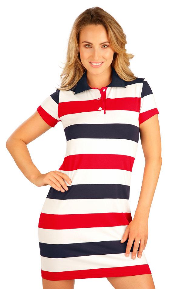 Šaty dámske s krátkym rukávom. 5B012 | Šaty, sukne, tuniky LITEX