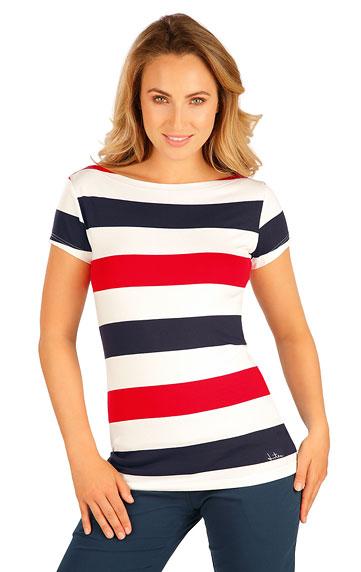 Tielka, trička, halenky > Tričko dámske s krátkym rukávom. 5B015