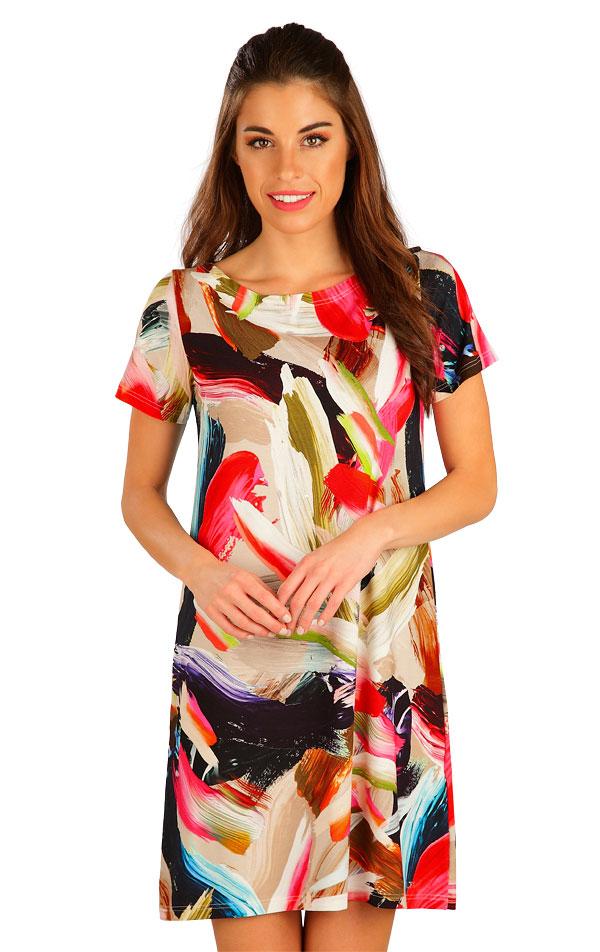 Šaty dámske s krátkym rukávom. 5B021 | Šaty, sukne, tuniky LITEX