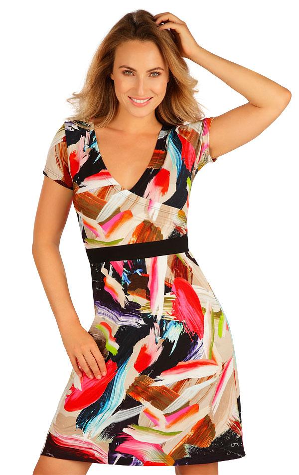 Šaty dámske s krátkym rukávom. 5B022 | Šaty, sukne, tuniky LITEX
