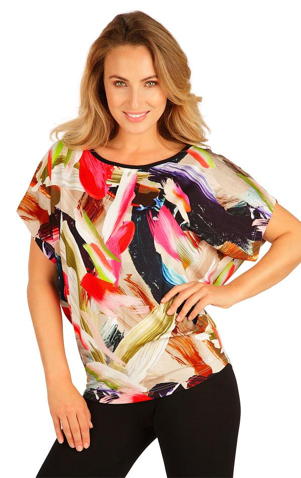Tričko dámske s krátkym rukávom. 5B024 | Tielka, trička, halenky LITEX