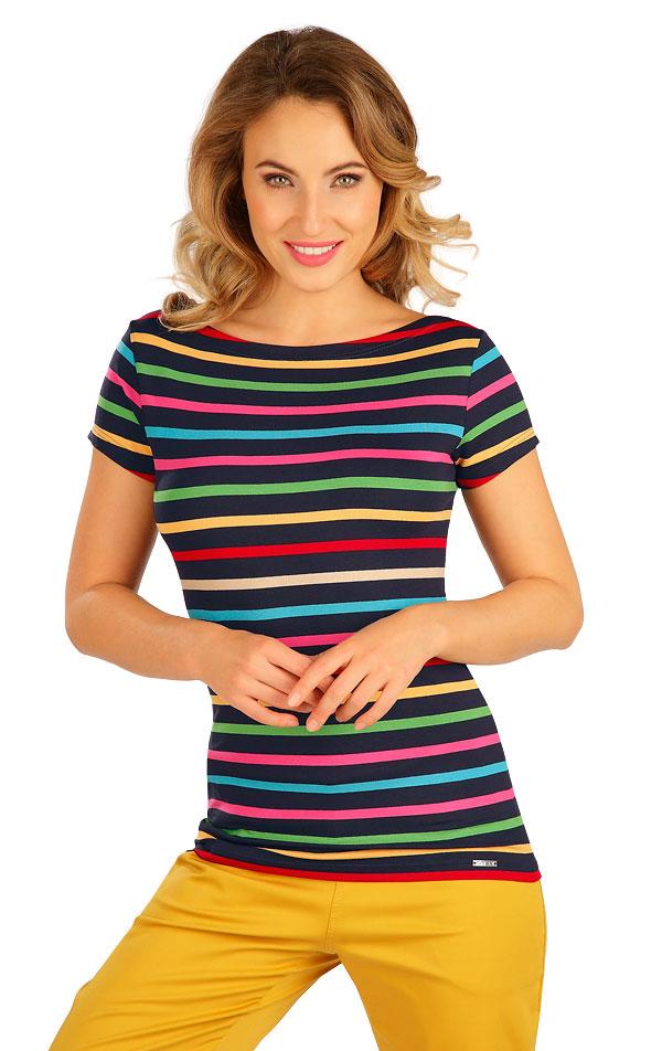 Tričko dámske s krátkym rukávom. 5B037 | Tielka, trička, halenky LITEX