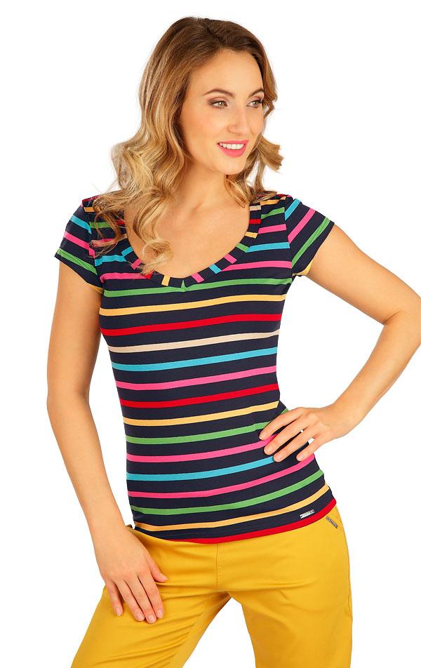 Tričko dámske s krátkym rukávom. 5B038 | Tielka, trička, halenky LITEX