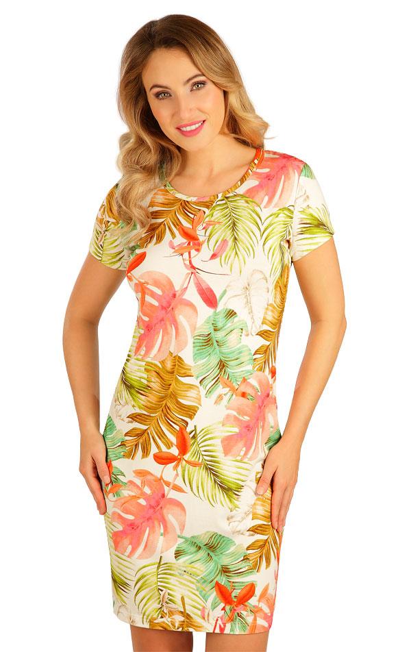 Šaty dámske s krátkym rukávom. 5B044 | Šaty, sukne, tuniky LITEX