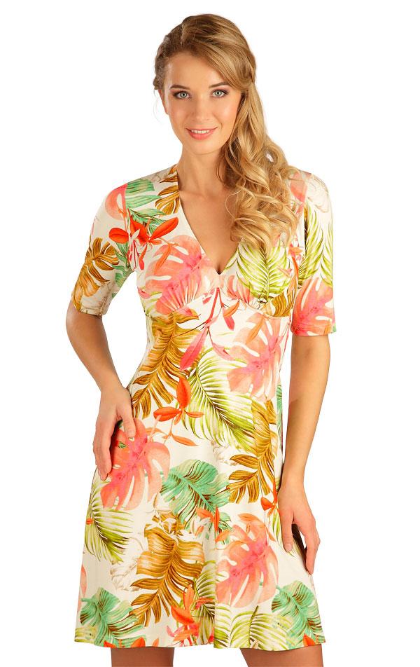 Šaty dámske s krátkym rukávom. 5B045 | Šaty, sukne, tuniky LITEX