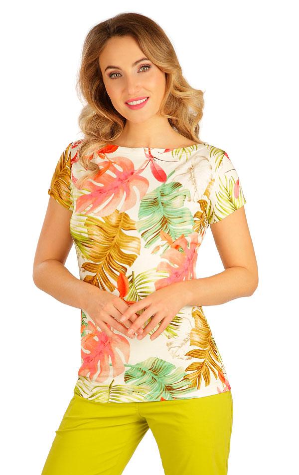 Tričko dámske s krátkym rukávom. 5B047 | Tielka, trička, halenky LITEX