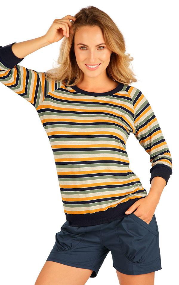 Tričko dámske s 3/4 rukávom. 5B055 | Tielka, trička, halenky LITEX