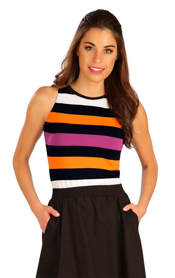 Tričko dámske bez rukávov. 5B069 | Tielka, trička, halenky LITEX