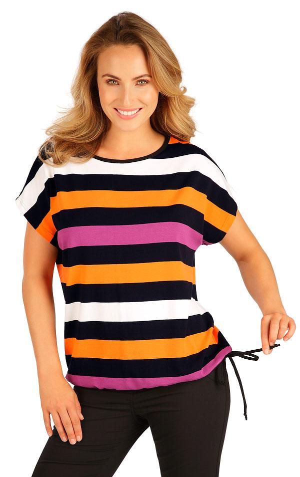 Tričko dámske s krátkym rukávom. 5B070 | Tielka, trička, halenky LITEX