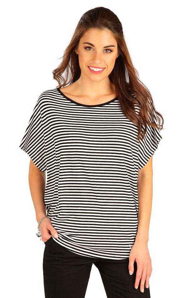 Tričko dámske s krátkym rukávom. 5B079 | Tielka, trička, halenky LITEX