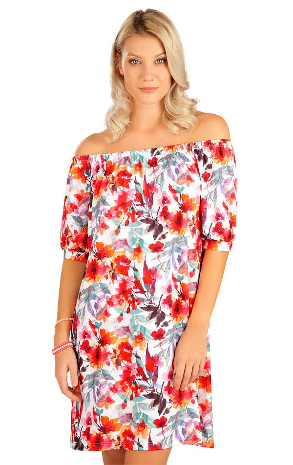 Šaty dámske s krátkym rukávom. 5B083 | Šaty, sukne, tuniky LITEX