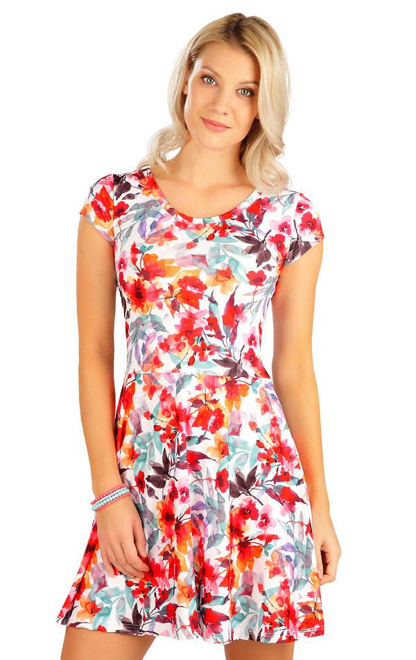 Šaty dámske s krátkym rukávom. 5B084 | Šaty, sukne, tuniky LITEX
